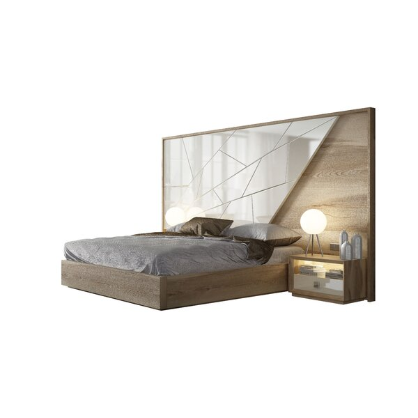 King Platform 3 Piece Bedroom Set by Hispania Home