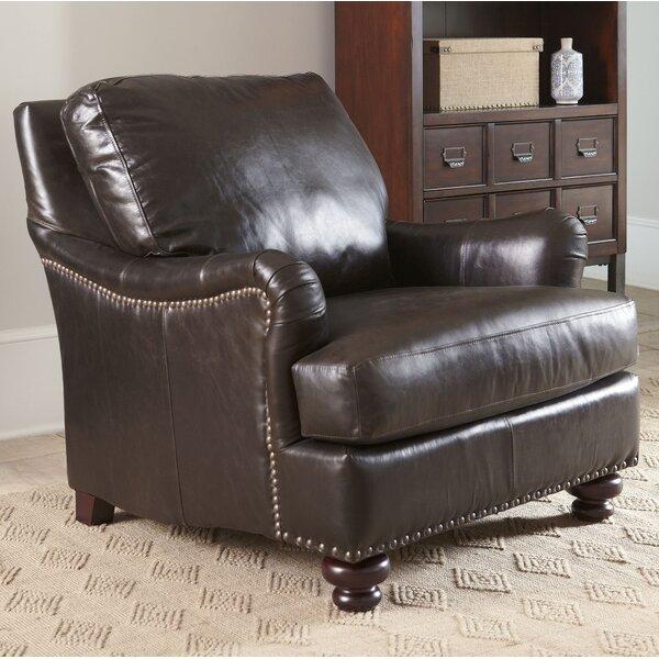 Leather Club Chair Recliner   Wayfair