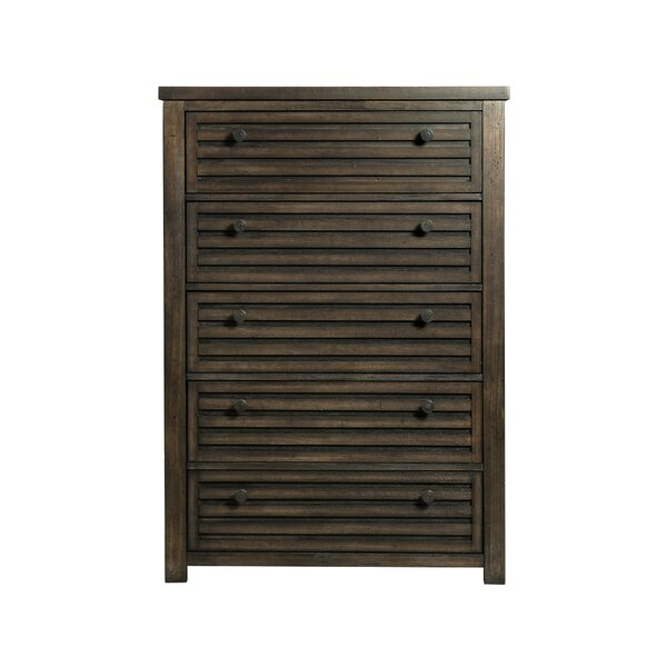 Panola 5 Drawer Chest by Gracie Oaks