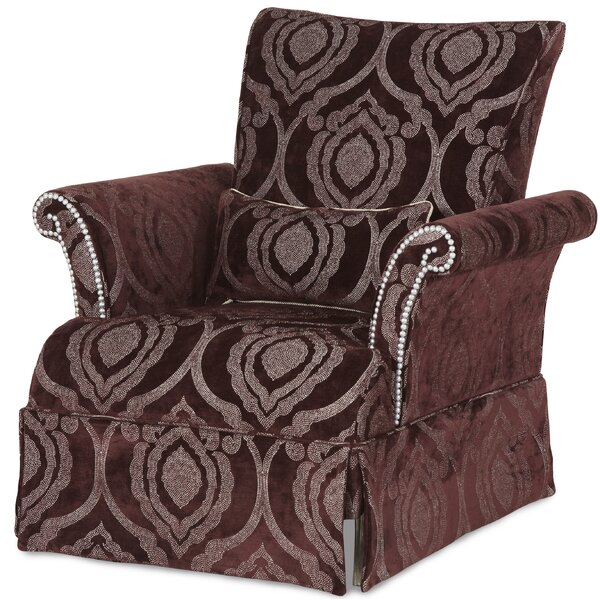 Hollywood Swank Armchair by Michael Amini