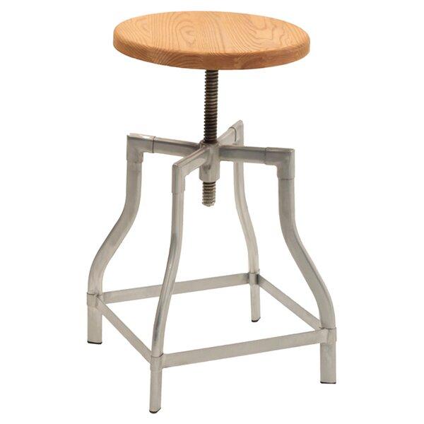 Iroh Adjustable Height Swivel Bar Stool by Trent Austin Design