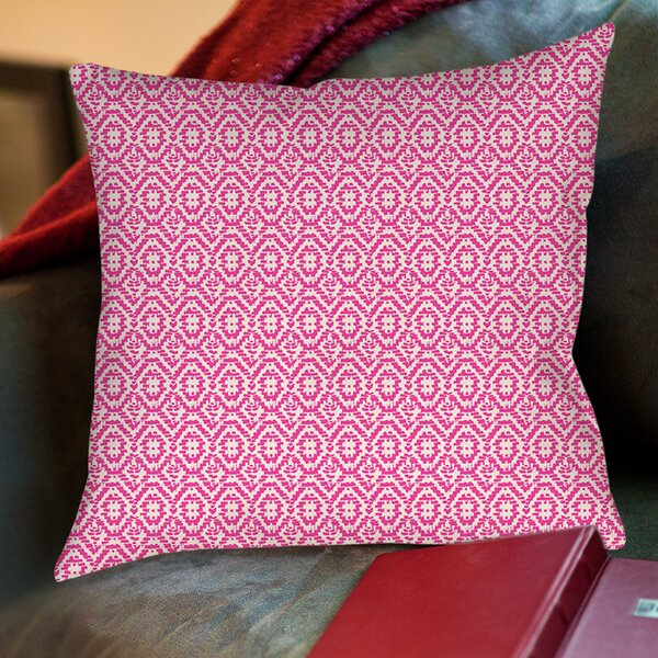 Woven Printed Throw Pillow by Manual Woodworkers & Weavers