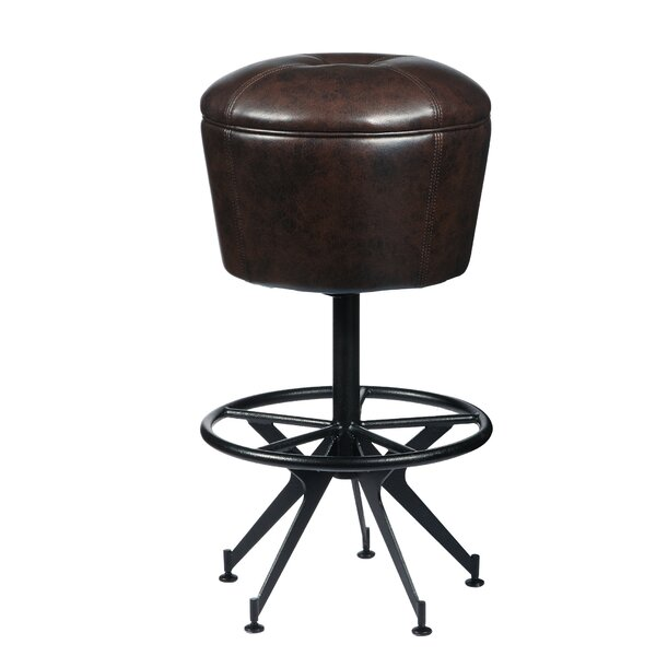 Demetrius 30 Swivel Bar Stool by 17 Stories