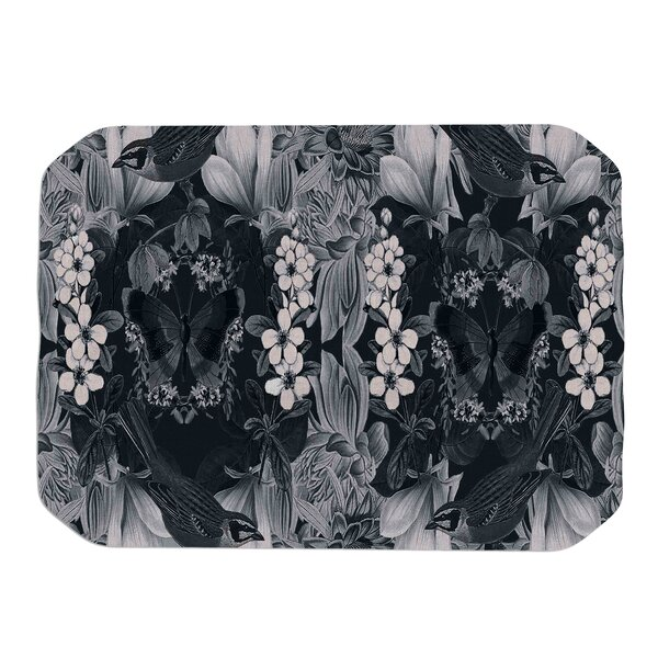 Magnolia Cushion Placemat by KESS InHouse