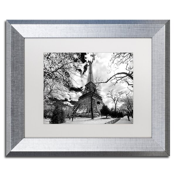Eiffel Tower by Philippe Hugonnard Framed Photographic Print by Trademark Fine Art