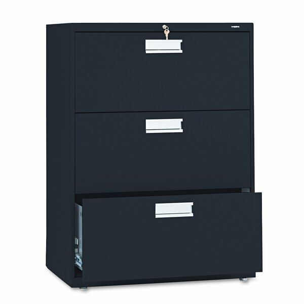 600 Series 30W 3-Drawer File by HON