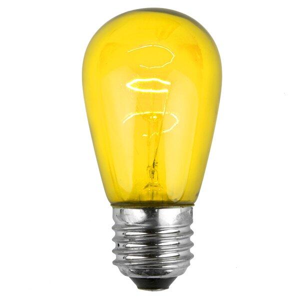 11W Yellow 130-Volt Light Bulb (Park of 20) by Wintergreen Lighting