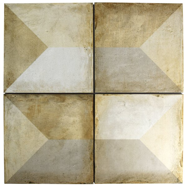 Rene 9.75 x 9.75 Porcelain Field Tile in Tris by EliteTile