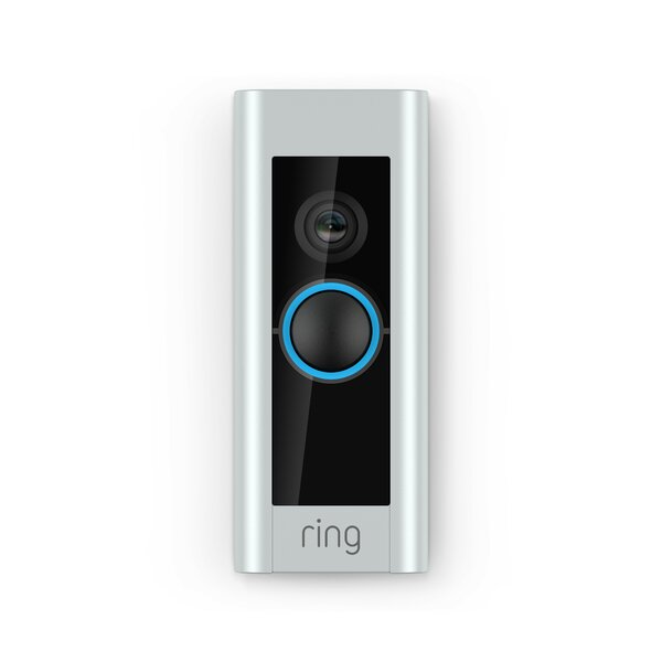 Pro Video Doorbell Pushbutton Kit By Ring.