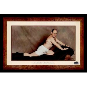 'George Costanza (the Timeless Art of Seduction)' Framed Photographic Print by Buy Art For Less