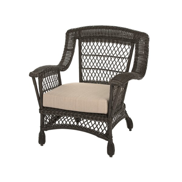 Marina Patio Chair with Cushions by Bayou Breeze Bayou Breeze