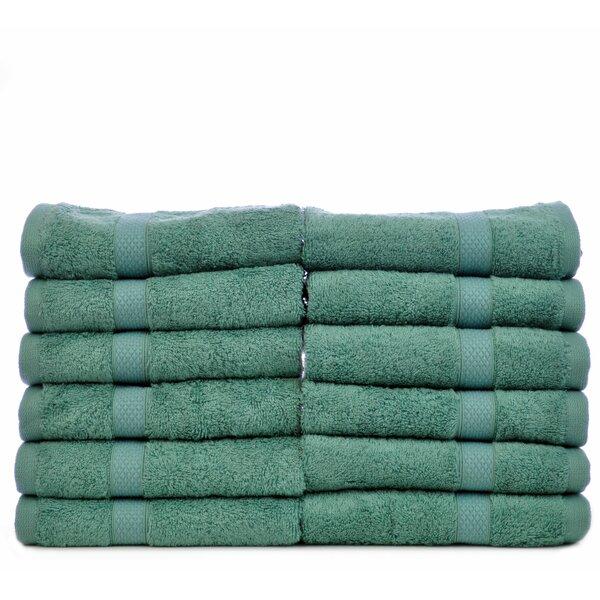 Blossom Turkish Cotton Washcloth (Set of 12) by Bare Cotton