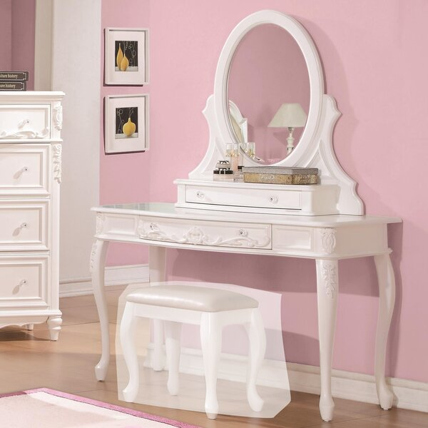 Cecere Vanity Desk by Rosdorf Park