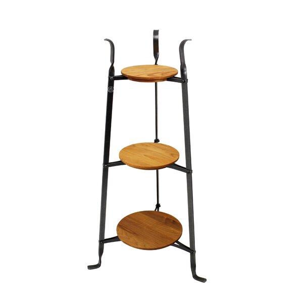 3 Tier Designer Stand W Alder Shelves Plant Stand By Enclume