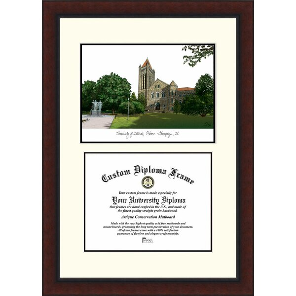 NCAA Illinois University, Urbana-Champaign Legacy Scholar Diploma Picture Frame by Campus Images