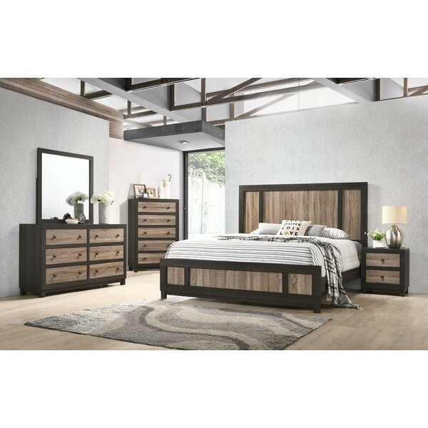 Myrtle Avenue Standard 5 Piece Bedroom Set by Union Rustic Union Rustic