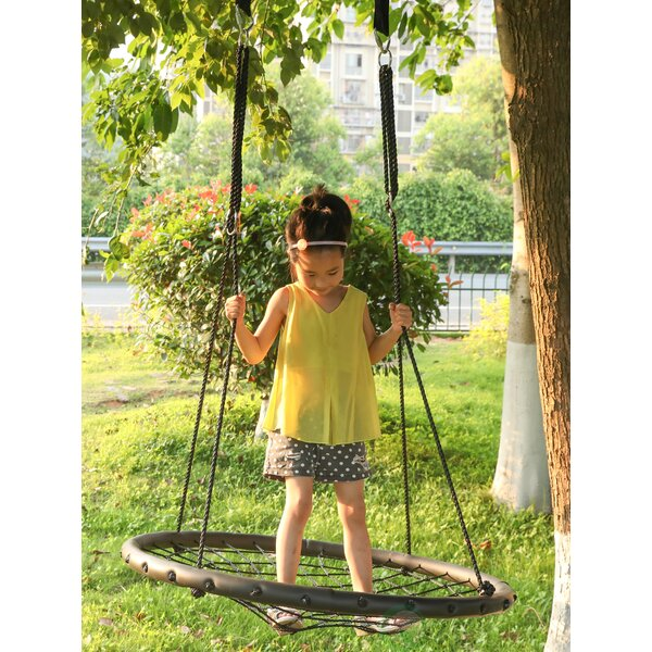 Net Tree Swing Seat with Hanging Ropes by PLAYBERG