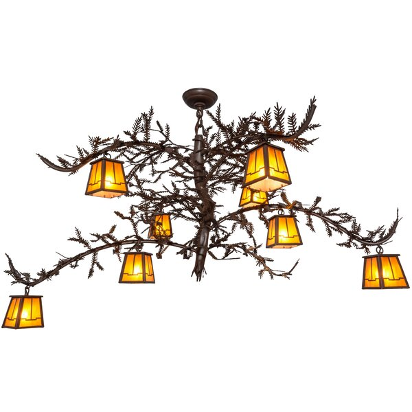 Cusack 8 - Light Unique Tiered Chandelier By Loon Peak
