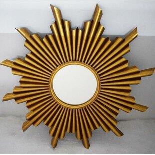 Mercer41 Chanelle Gold Accent Mirror