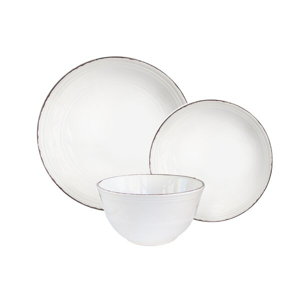 Estancia 12 Piece Dinnerware Set, Service for 4 by Winston Porter