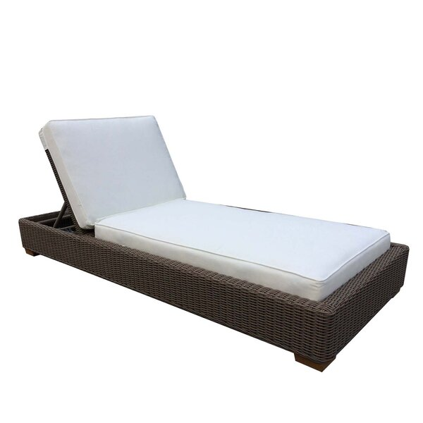 Hobson Reclining Chaise Lounge with Cushion