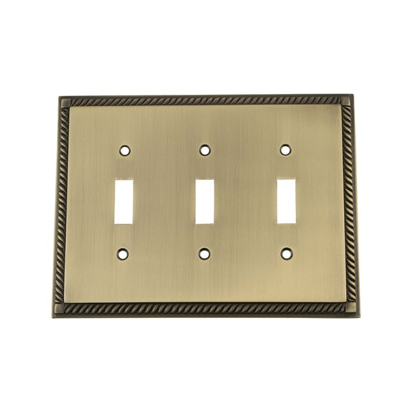Nostalgic Warehouse Rope Light Switch Plate & Reviews