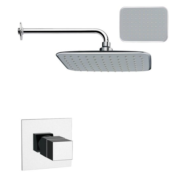 Mario Thermostatic Shower Faucet with Valve and Diverter by Remer by Nameek's Remer by Nameek's