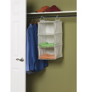 Great choice 3-Compartment Hanging Shoe Organizer ByHousehold Essentials