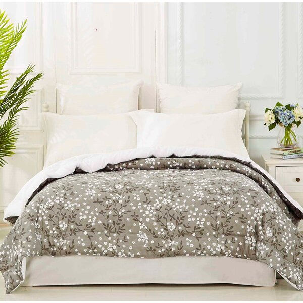 Maysville Floral Printed Quilted Blanket by Winston Porter