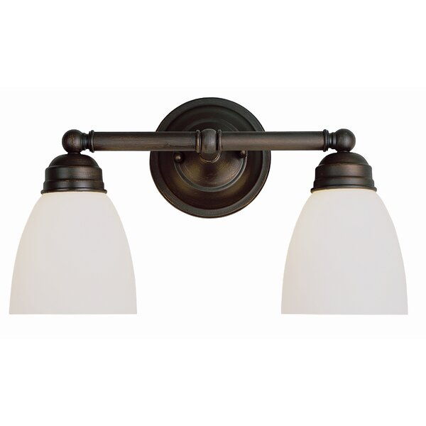 Sitka 2-Light Vanity Light by Andover Mills