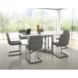 Perfect Bruck Contemporary 7 Piece Dining Set