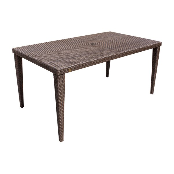 Ferrero Wicker/Rattan Dining Table by Andover Mills