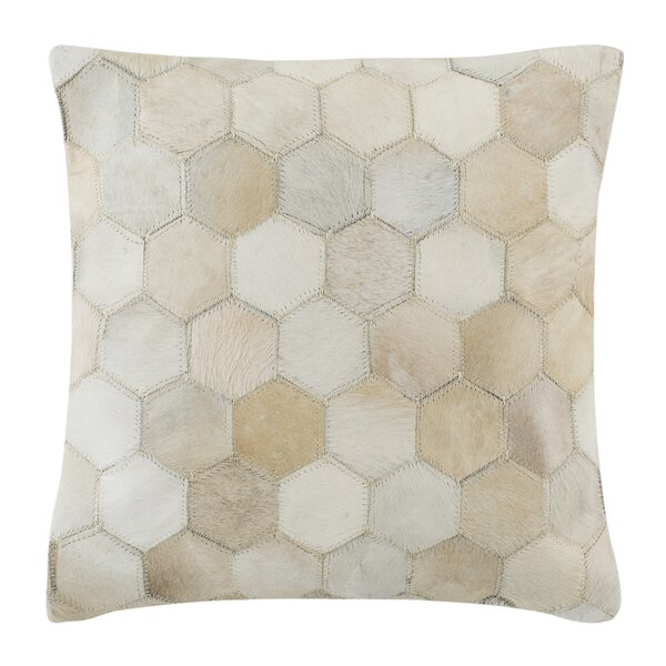 Altieri Tiled Natural Throw Pillow by Foundry Select