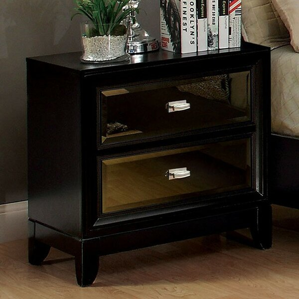 Willisville 2 Drawer Nightstand by House of Hampton
