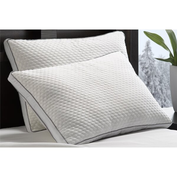 Mirabelle Medium Down Alternative Jumbo Pillow (Set of 2) by Alwyn Home