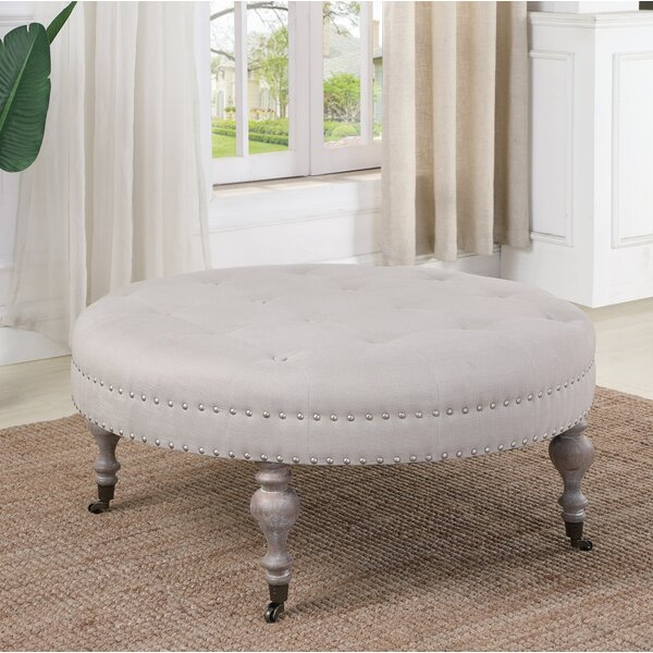 Creline Tufted Ottoman by Ophelia & Co.