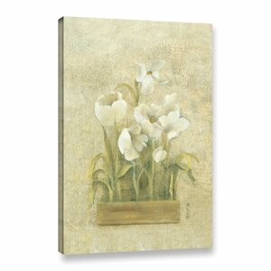 Bulbs of Spring I Painting Print on Wrapped Canvas by Lark Manor