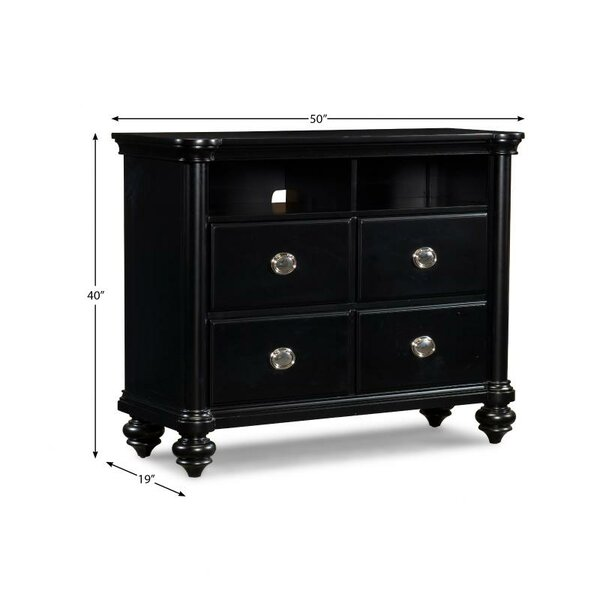 Free Shipping Maner 4 Drawer Media Chest