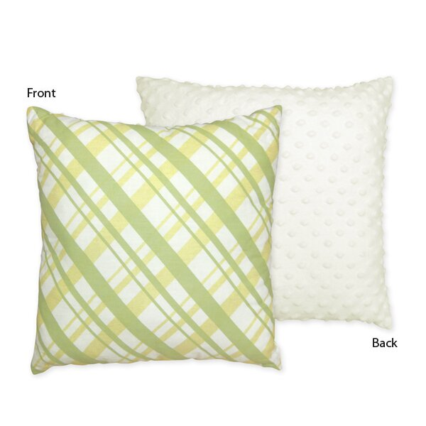 Leap Frog Cotton Throw Pillow by Sweet Jojo Designs