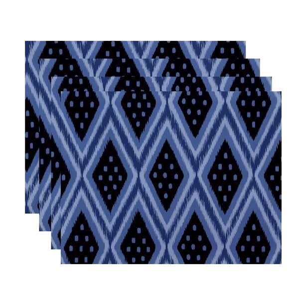 Sabrina Geometric Placemat (Set of 4) by Bungalow Rose
