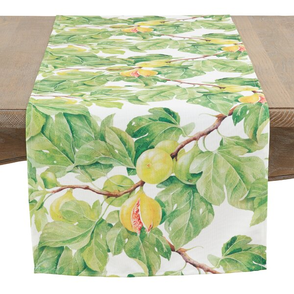 Kovary Fig Tree Table Runner by August Grove