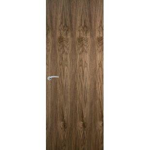 Solid Walnut Flush Slab Fire Door