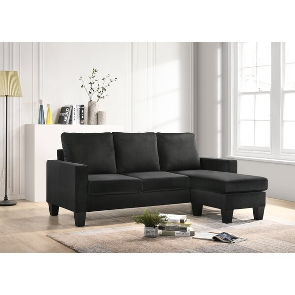 Modern Beautiful Jessica Reversible Sectional by Bolt Furniture by Bolt Furniture