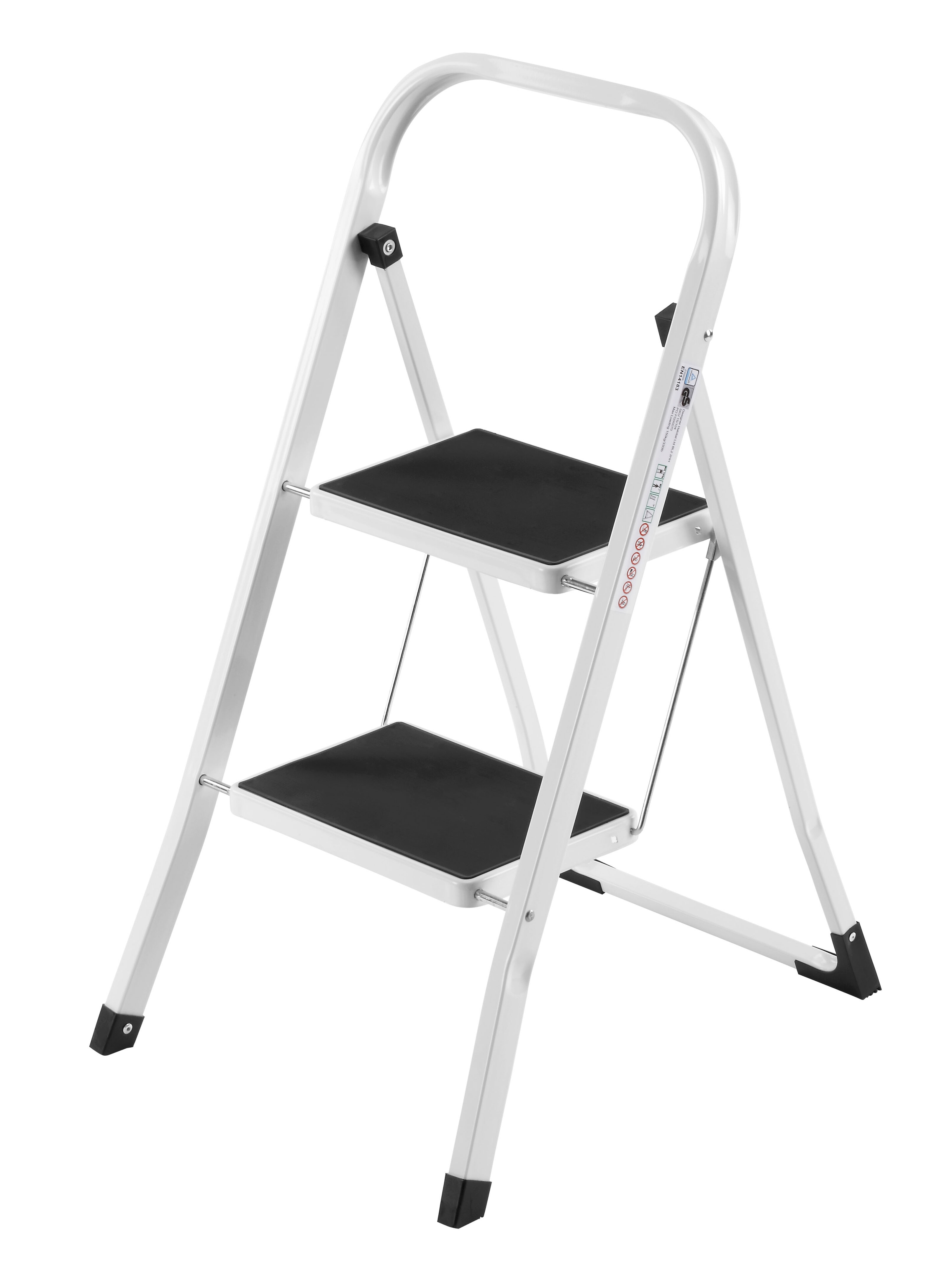Tremendous 2 Step Steel Step Stool With 330 Lb Load Capacity Gmtry Best Dining Table And Chair Ideas Images Gmtryco