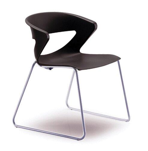 Kreature Sled Base Guest Chair by Gordon International