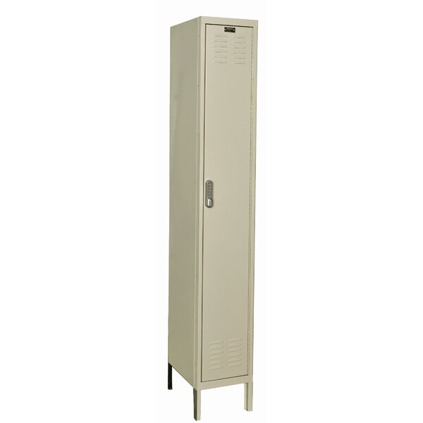 DigiTech 1 Tier 1 Wide School Locker by Hallowell