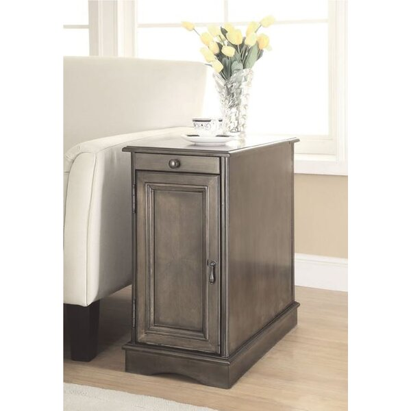 Bracey End Table With Storage By Darby Home Co