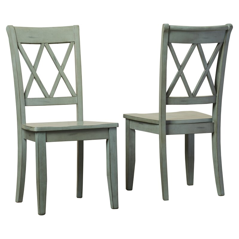 Elegant Castle Pines Solid Wood Dining Chair
