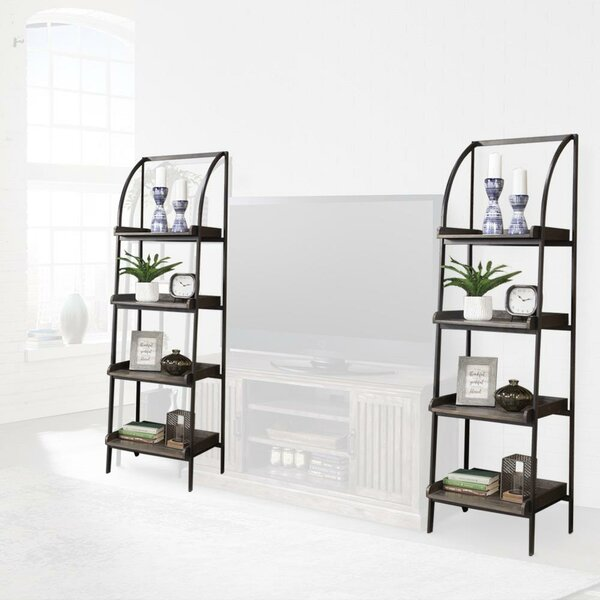 Mooneyham Etagere Bookcase (Set Of 2) By 17 Stories