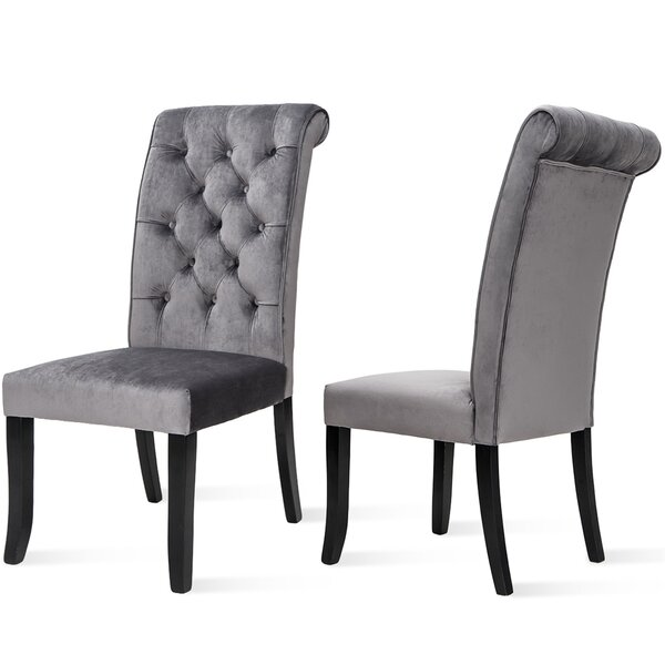 Rillie Tufted Upholstered Dining  Chair (Set Of 2) By Gracie Oaks
